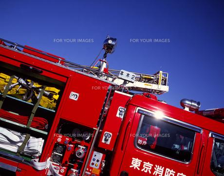 消防車の写真素材 [FYI00453277]