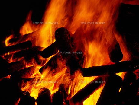 炎の写真素材 [FYI00453299]