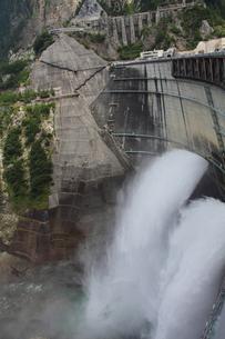 黒四ダムの写真素材 [FYI00453519]