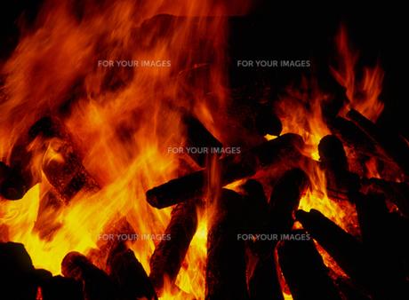 炎の写真素材 [FYI00453846]