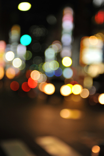 街の灯りの写真素材 [FYI00453903]