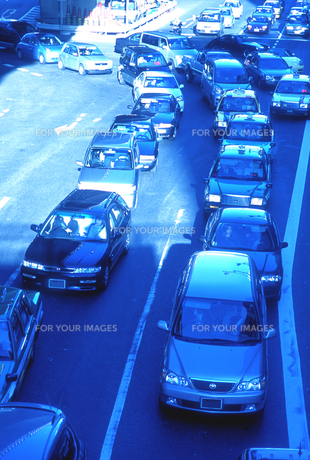 渋滞の写真素材 [FYI00453990]