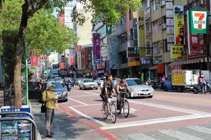 台南市街地の写真素材 [FYI00454018]
