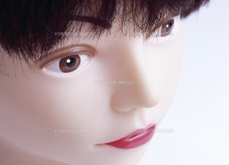 マネキンの顔の写真素材 [FYI00454084]