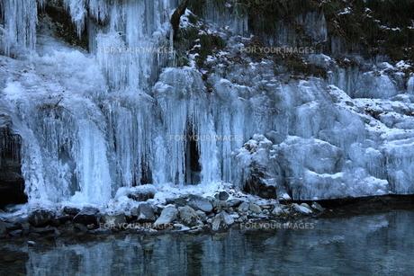 三十槌の氷柱の写真素材 [FYI00454141]