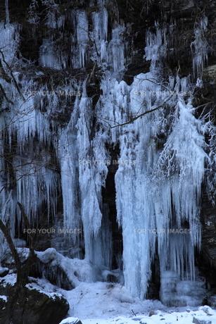 三十槌の氷柱の写真素材 [FYI00454146]