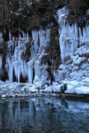三十槌の氷柱の写真素材 [FYI00454153]