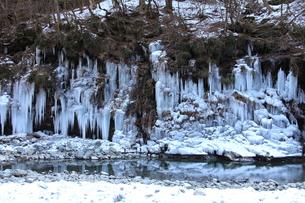 三十槌の氷柱の写真素材 [FYI00454154]