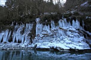 三十槌の氷柱の写真素材 [FYI00454156]