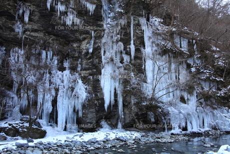 三十槌の氷柱の写真素材 [FYI00454161]