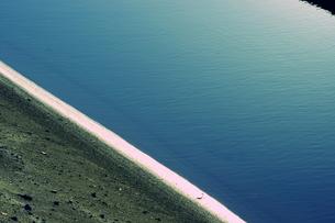 蒼い海の写真素材 [FYI00454179]