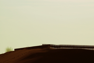 ドミノな砂丘の写真素材 [FYI00454182]