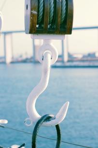 海王丸のフックの写真素材 [FYI00454187]