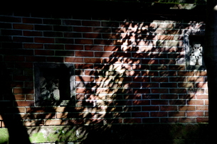 レンガと影の写真素材 [FYI00454218]