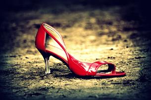 赤い靴の写真素材 [FYI00454279]