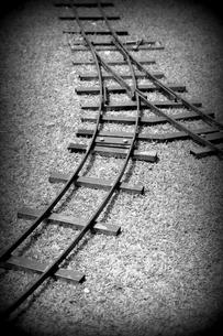 線路の分岐の写真素材 [FYI00454283]