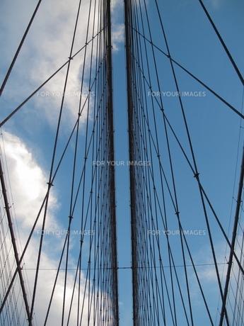 ブルックリンブリッジの写真素材 [FYI00454395]