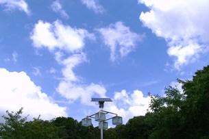 ソーラーパネルの写真素材 [FYI00454931]