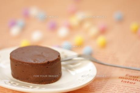 チョコレートケーキの写真素材 [FYI00455063]