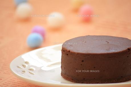 チョコレートケーキの写真素材 [FYI00455072]