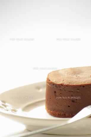 チョコレートケーキの写真素材 [FYI00455077]