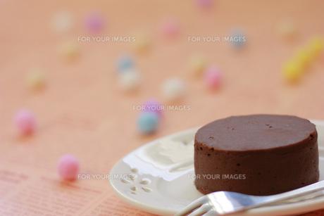 チョコレートケーキの写真素材 [FYI00455078]