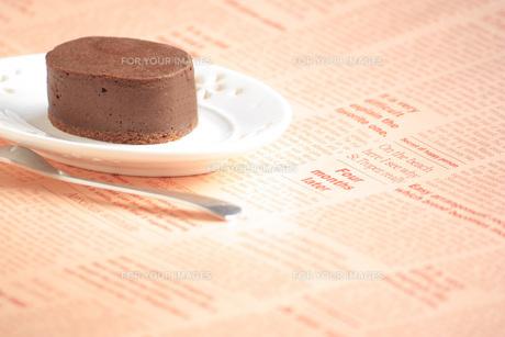 チョコレートケーキの写真素材 [FYI00455079]
