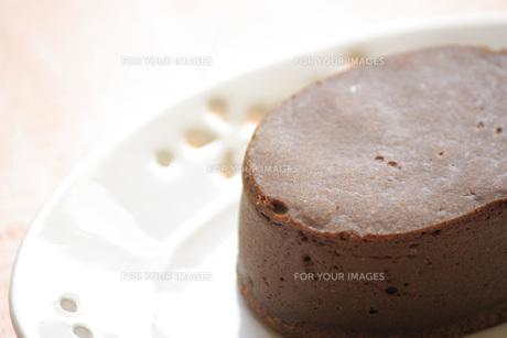 チョコレートケーキの写真素材 [FYI00455083]
