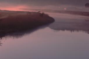 朝霧の写真素材 [FYI00455413]