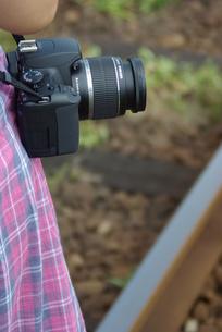 カメラがすきの写真素材 [FYI00455686]