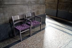 教会の椅子の写真素材 [FYI00455842]
