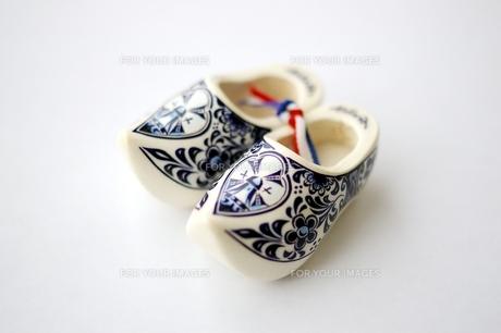 オランダの木靴(横)の素材 [FYI00455860]