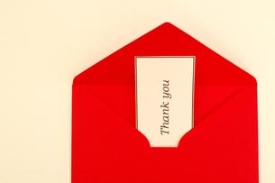 メッセージカードの写真素材 [FYI00455921]