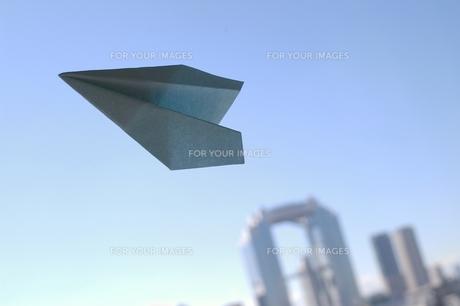 紙飛行機の素材 [FYI00455930]