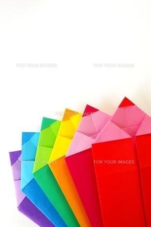 折り紙の鉛筆の素材 [FYI00455949]