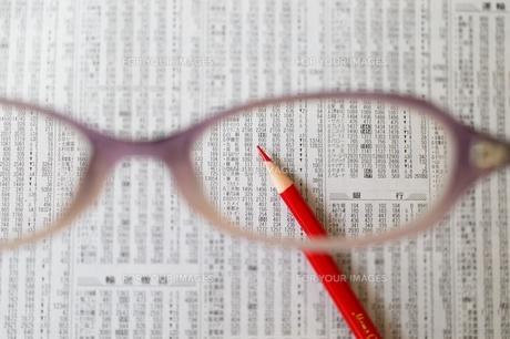 株価チェックの素材 [FYI00455964]