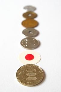 日本の硬貨の写真素材 [FYI00455983]