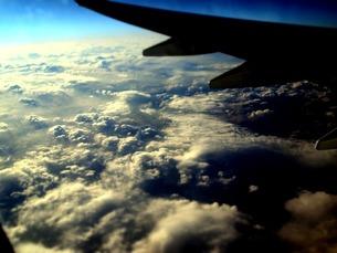 飛行機から見る空の写真素材 [FYI00456050]