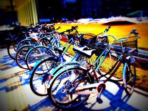 自転車の写真素材 [FYI00456063]