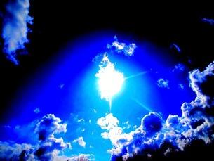 北海道の青空の写真素材 [FYI00456068]