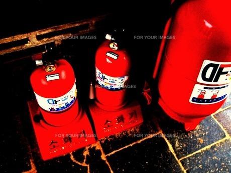 消火器の写真素材 [FYI00456095]