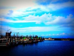 漁船の写真素材 [FYI00456097]