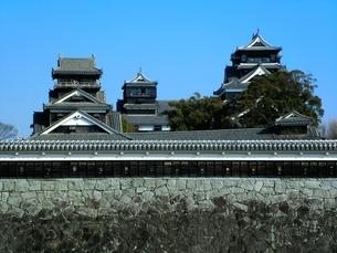 熊本城天守閣の写真素材 [FYI00456141]