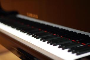 グランドピアノ鍵盤(音楽・楽器)の写真素材 [FYI00456394]