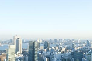 高台から見下ろす東京の写真素材 [FYI00456429]