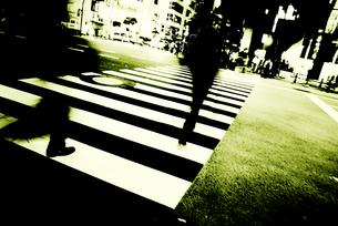 交差点の写真素材 [FYI00456432]