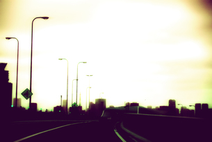 高速道路の写真素材 [FYI00456437]