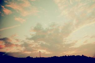 夕焼け空の写真素材 [FYI00456472]