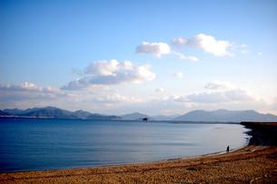 海岸と空の写真素材 [FYI00456633]