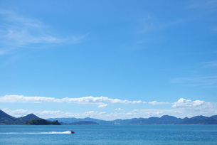 夏の海の写真素材 [FYI00456647]
